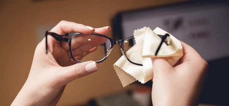 caring for your glasses