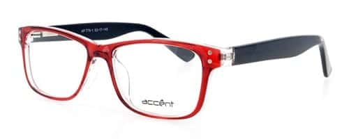 Accent 779 Red/Black