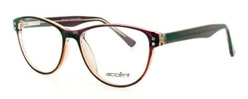 Accent 782 Clear Dark Red