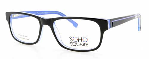 Soho Square SS22 Black/Blue