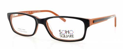 Soho Square SS24 Orange/Black