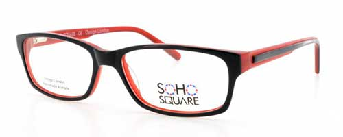 Soho Square SS24 Red/Black