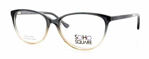 Soho Square SS28 Clear/Black