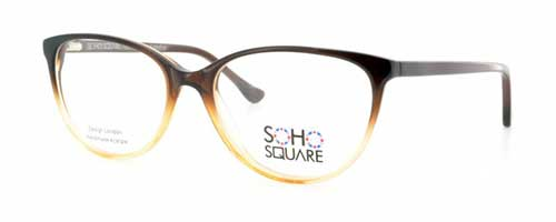 Soho Square SS28 Clear/Brown