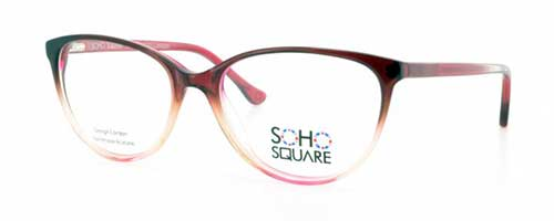 Soho Square SS28 Clear/Cerise