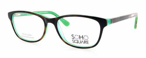 Soho Square SS30 Green/Havana