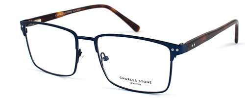 Charles Stone NY30011 Blue/Havana