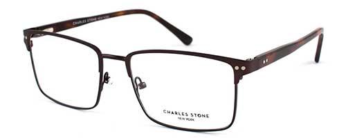 Charles Stone NY30011 Dark Brown Havana