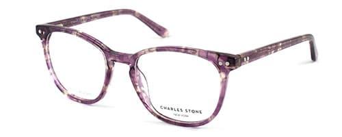 Charles Stone NY30016 Purple/Crystal