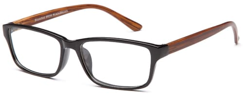 Brooksfield BR258 Black/Brown